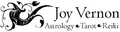 logo for Joy Vernon Astrology Tarot Reiki