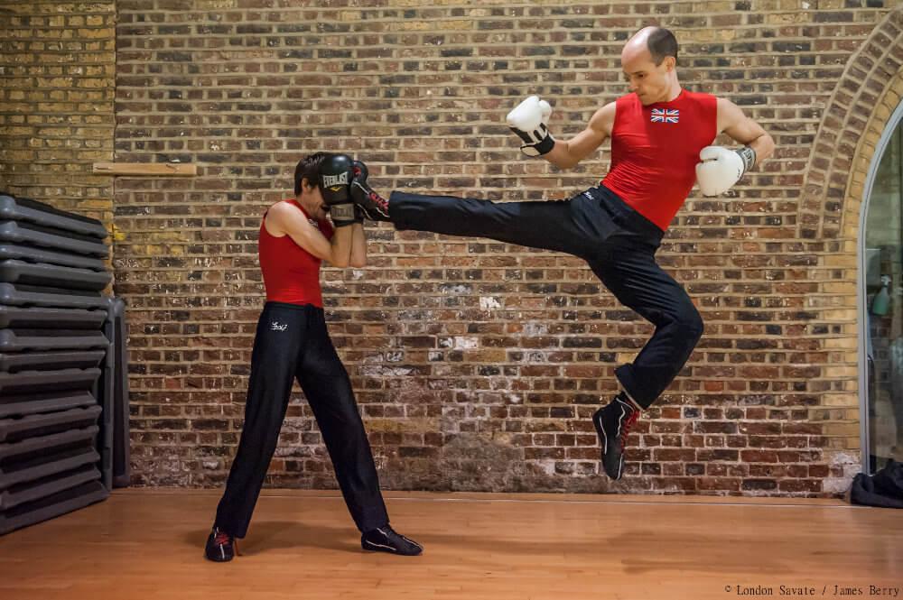 James Southwood high kick