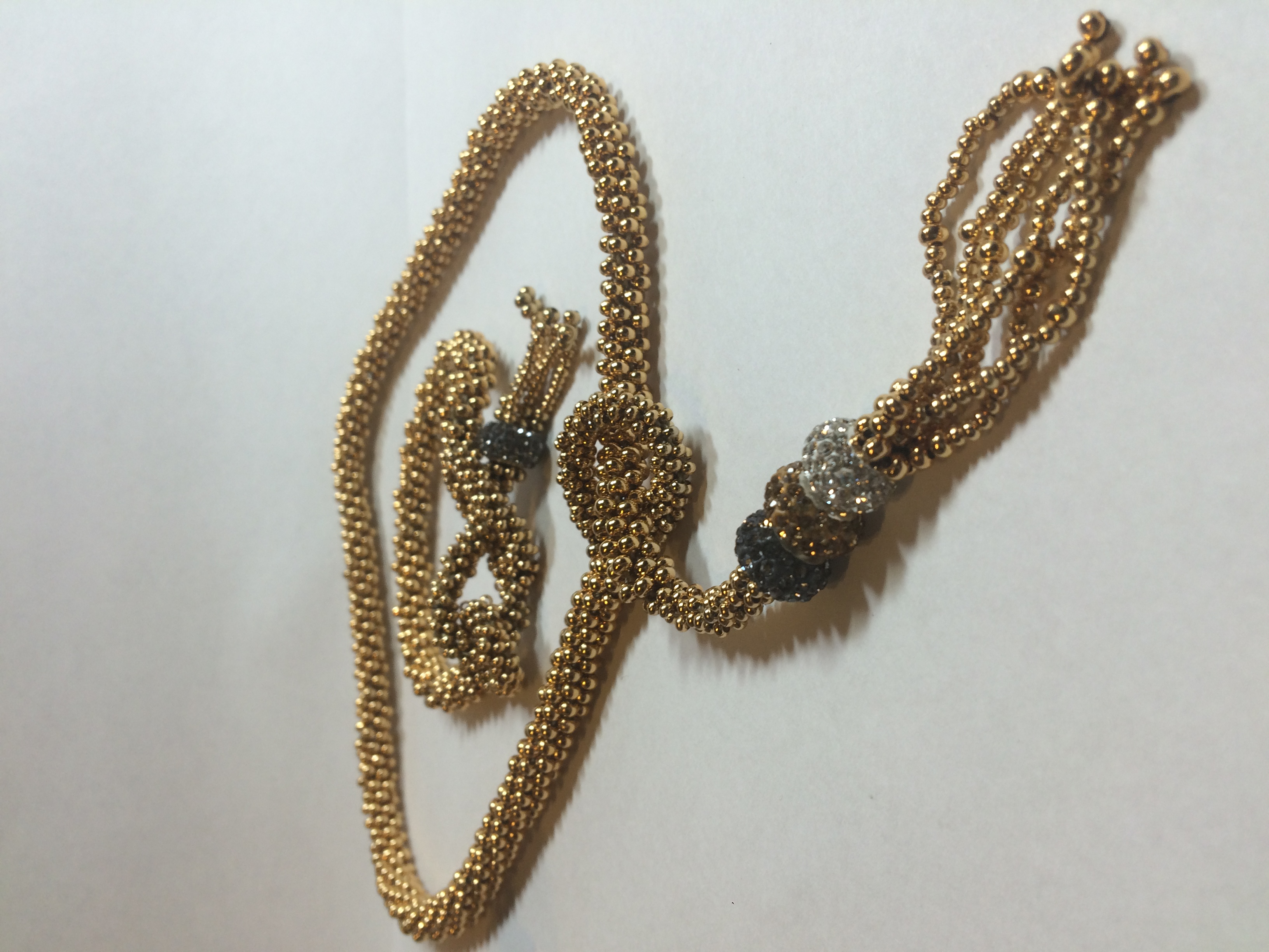 Beaded Lariat by SD
