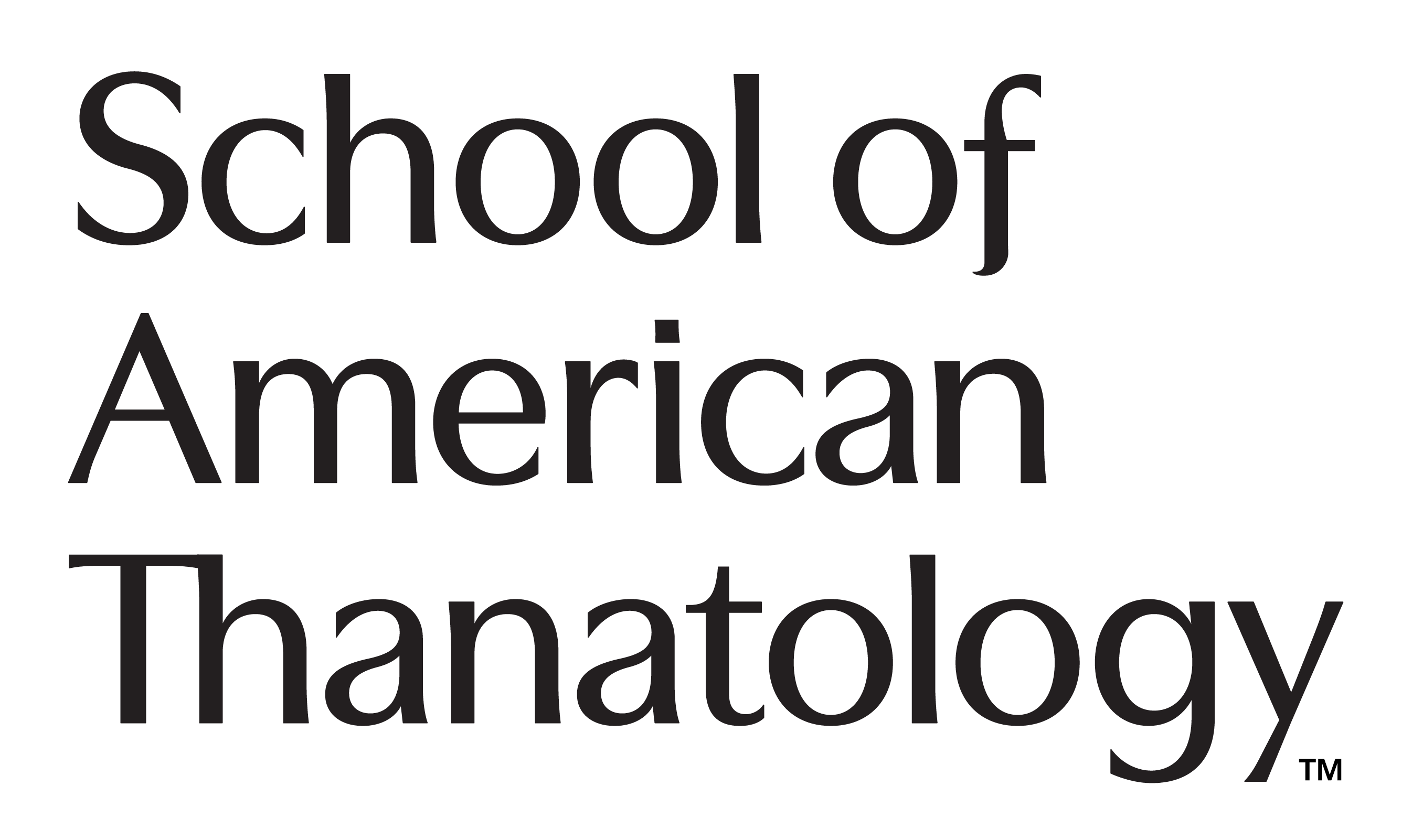 School of American Thanatology Logo