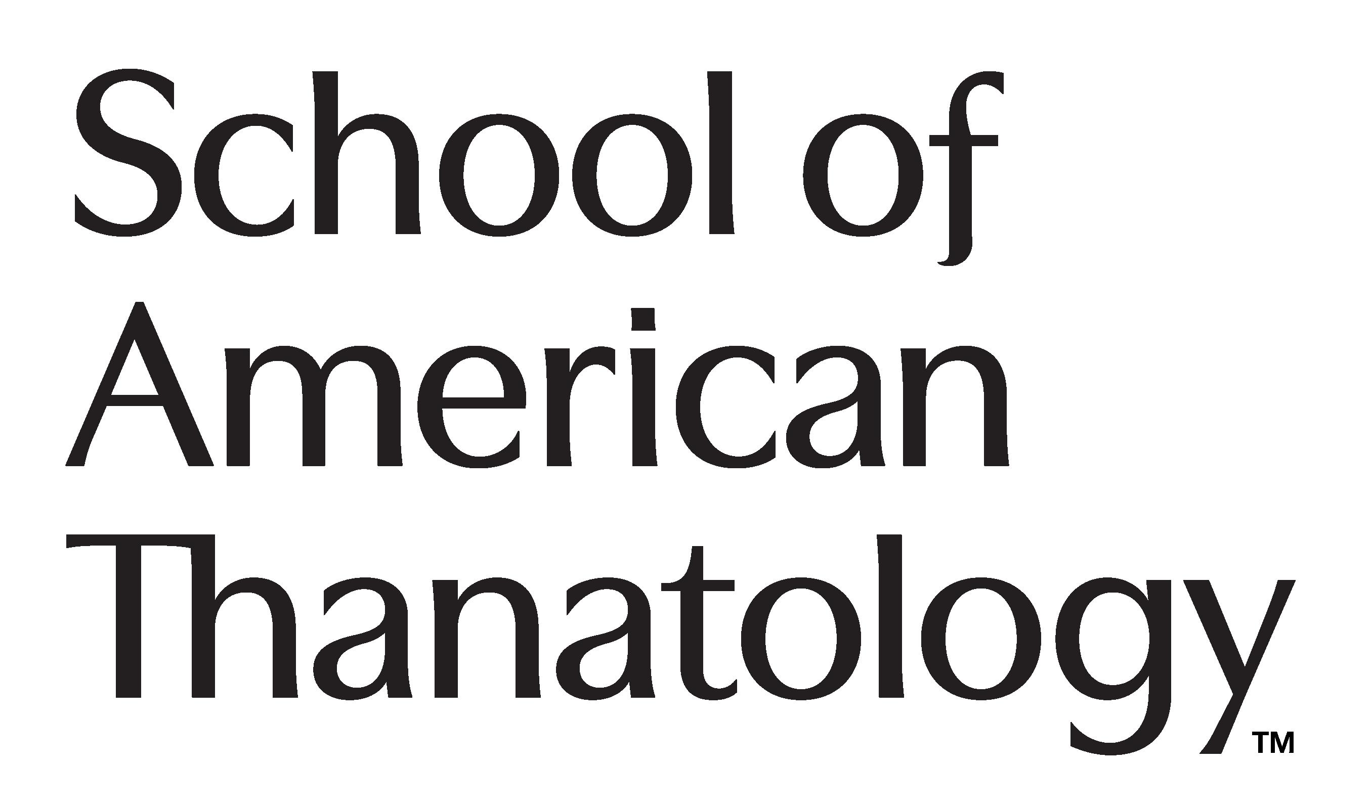 School of American Thanatology Logo