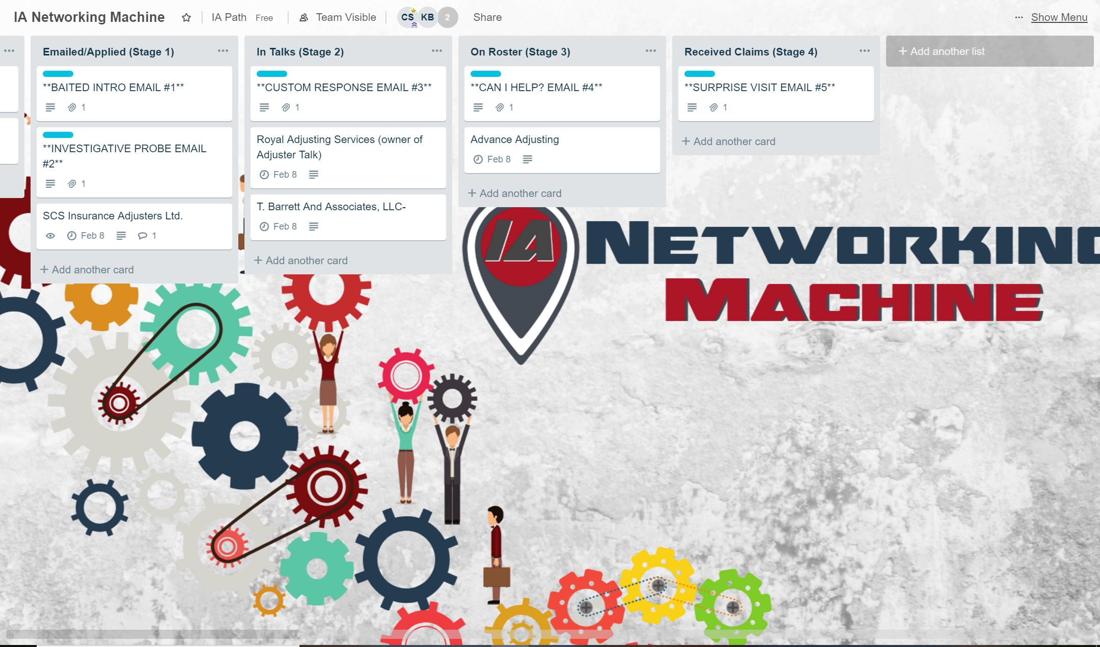 IA Networking Machine