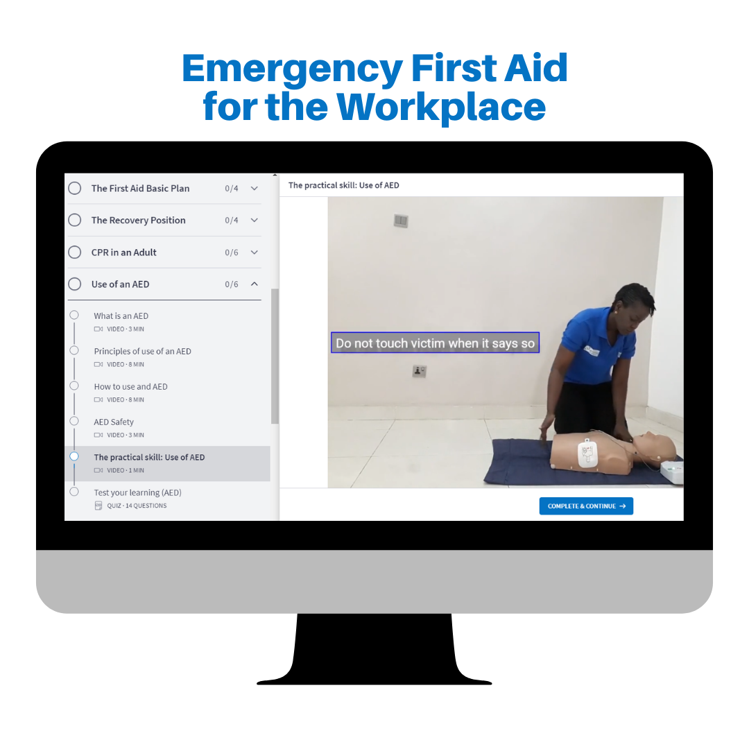 Learn Basic First Aid Online