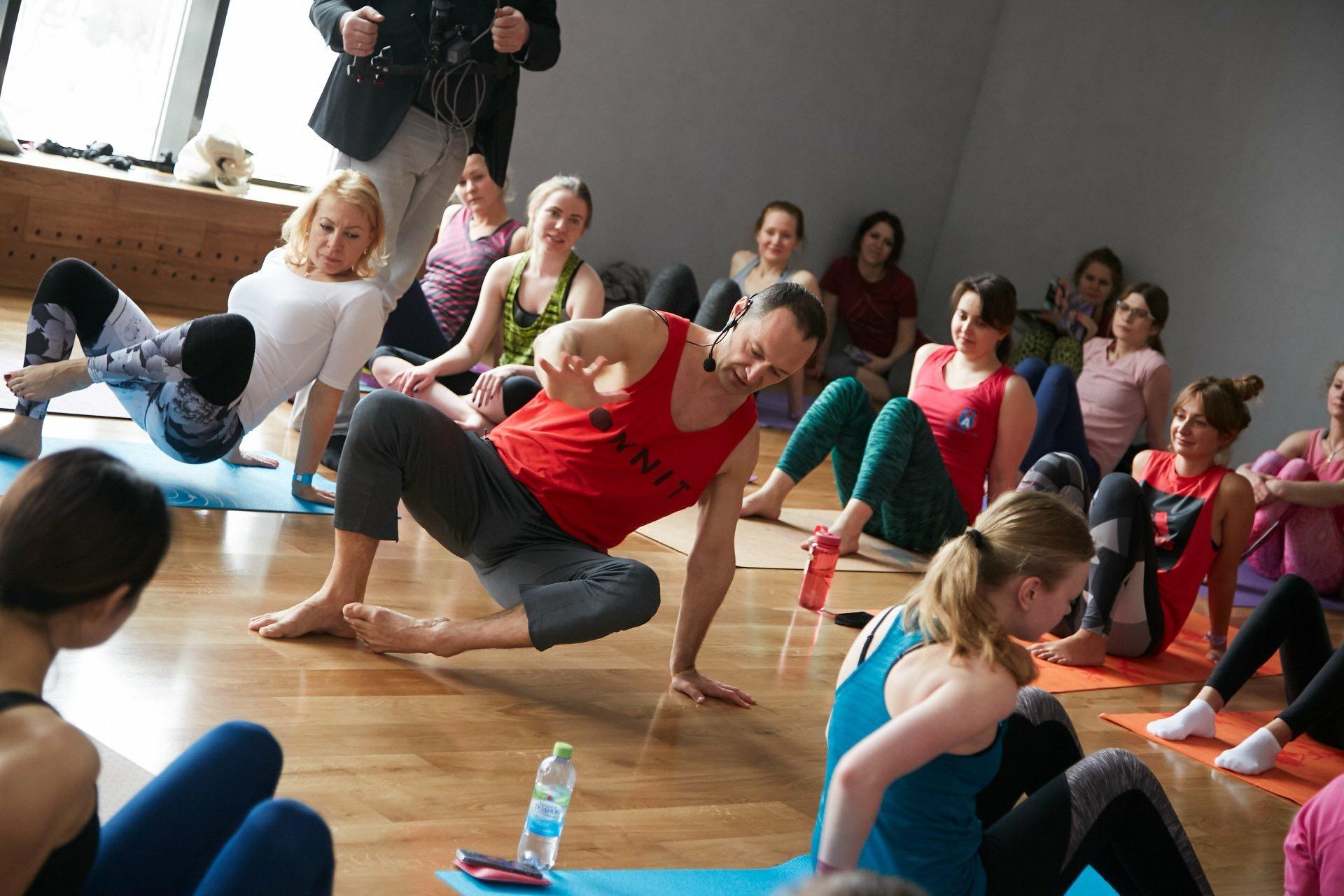 Конференция Yoga Journal Russia