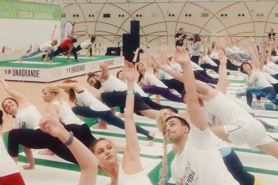Yoga Journal Russia марафон