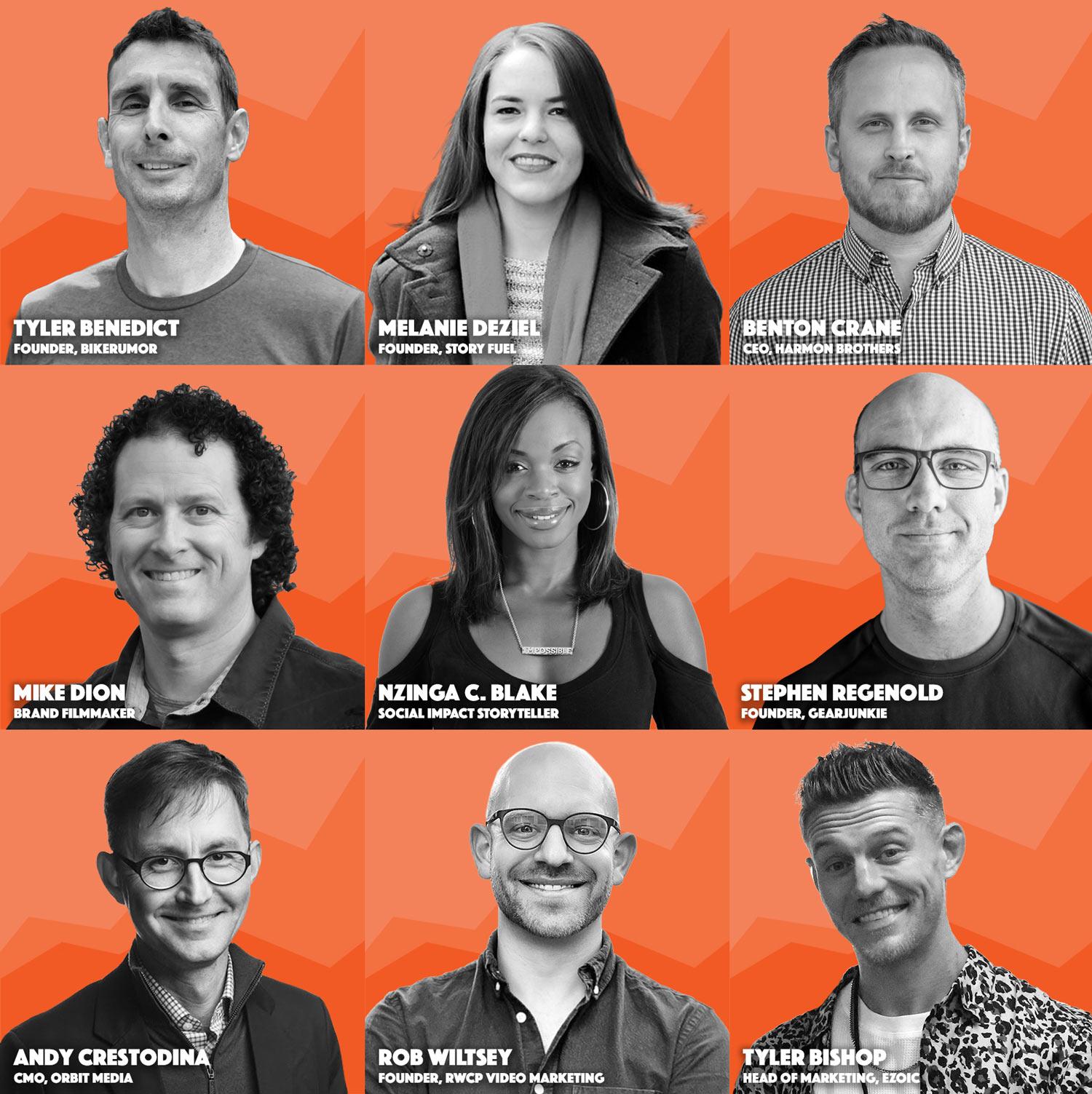 speakers from Peak Content Summit 2020