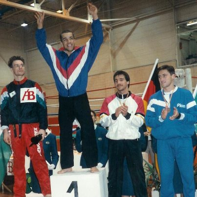 European Kickboxing Champion 1990