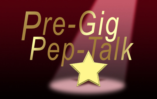 Pre Gig Pep Talk Logo