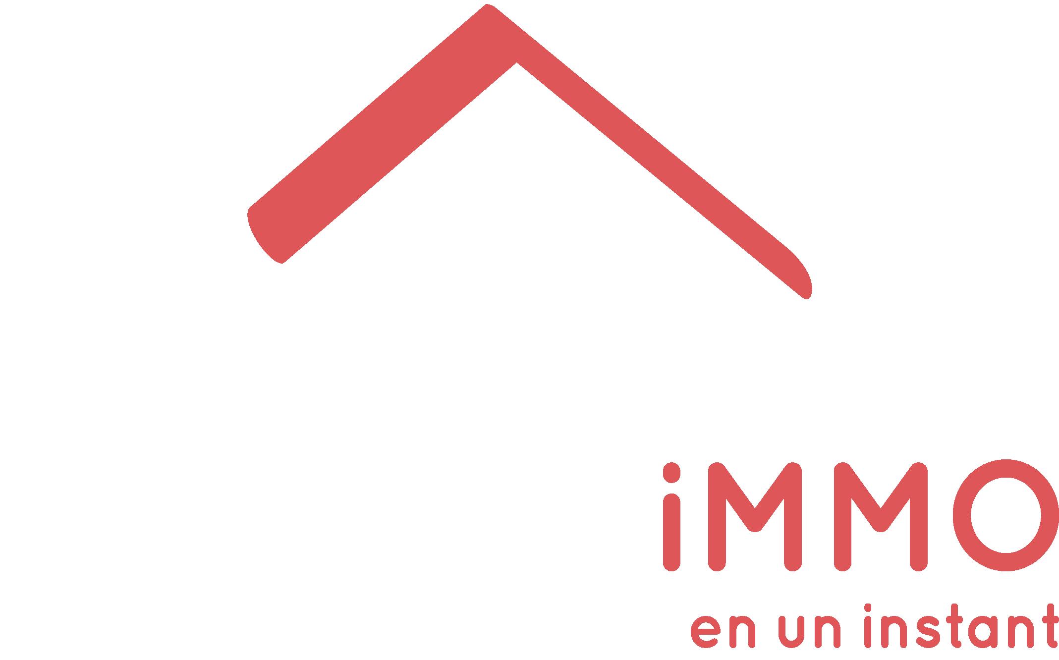 INSTANTiMMO logo blanc
