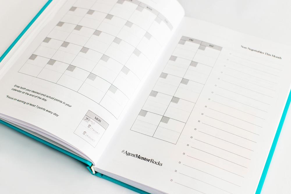 One Journal with a calendar breakdown