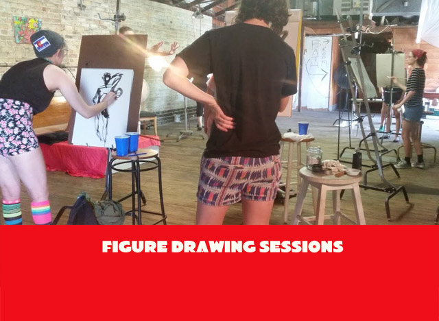 Figure Drawing Sessions