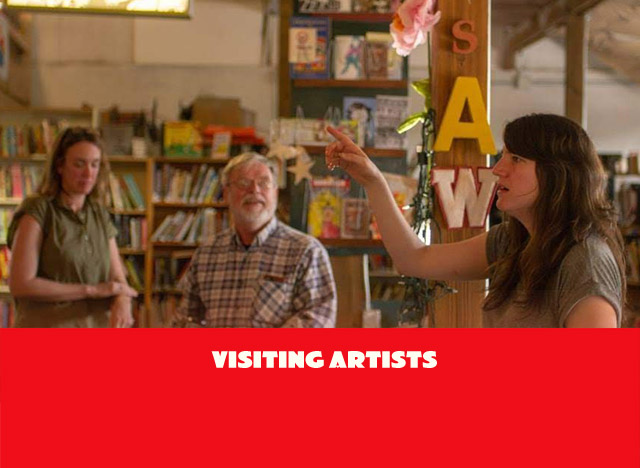 Visiting Artist Talks and Workshops