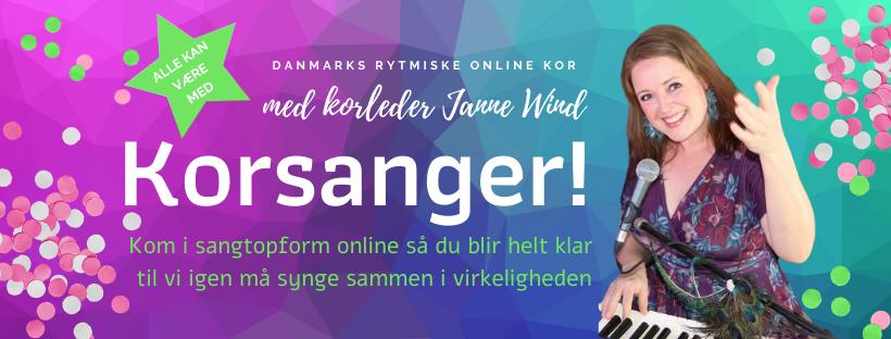 Danmarks Rytmiske Online Kor - KORSANGER!
