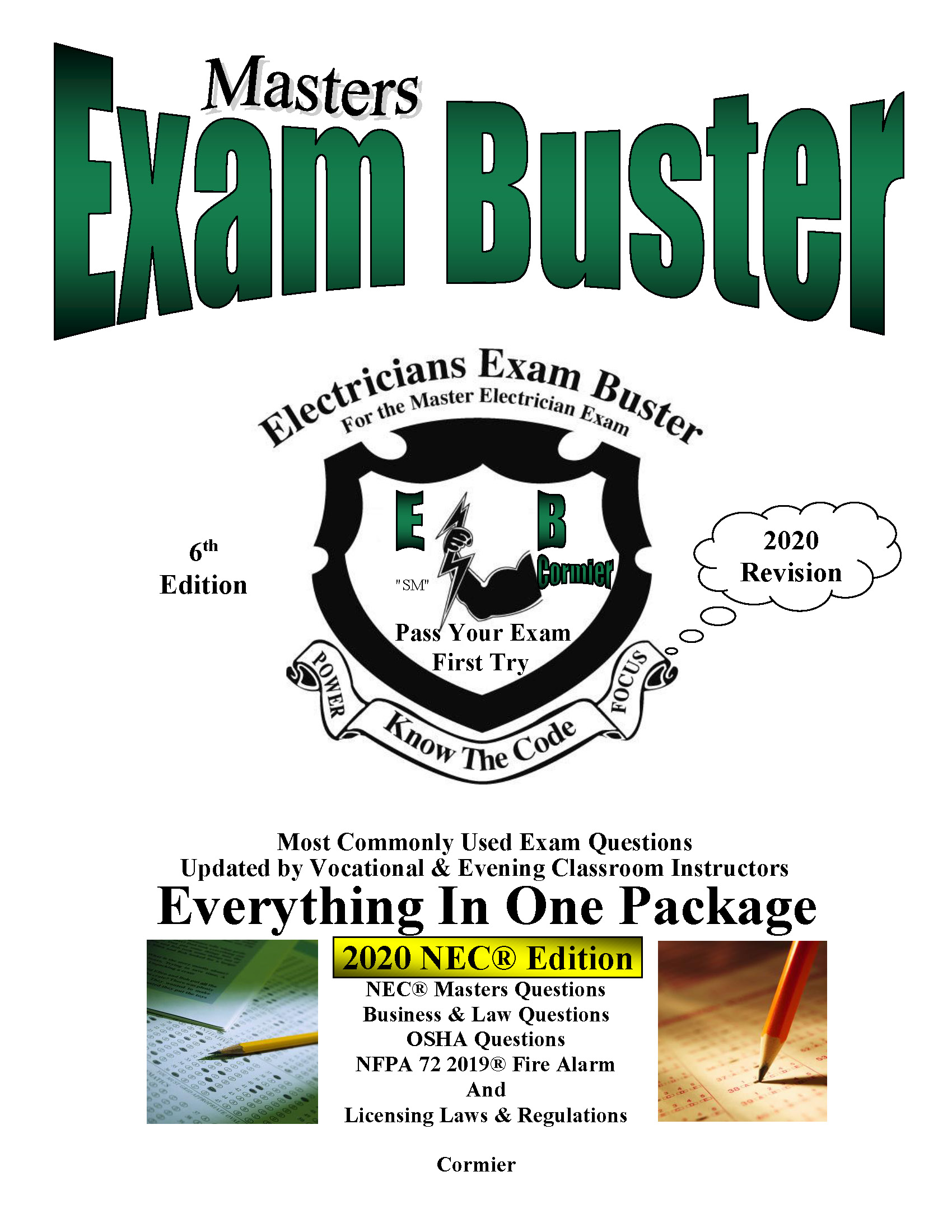Old exam buster book cover