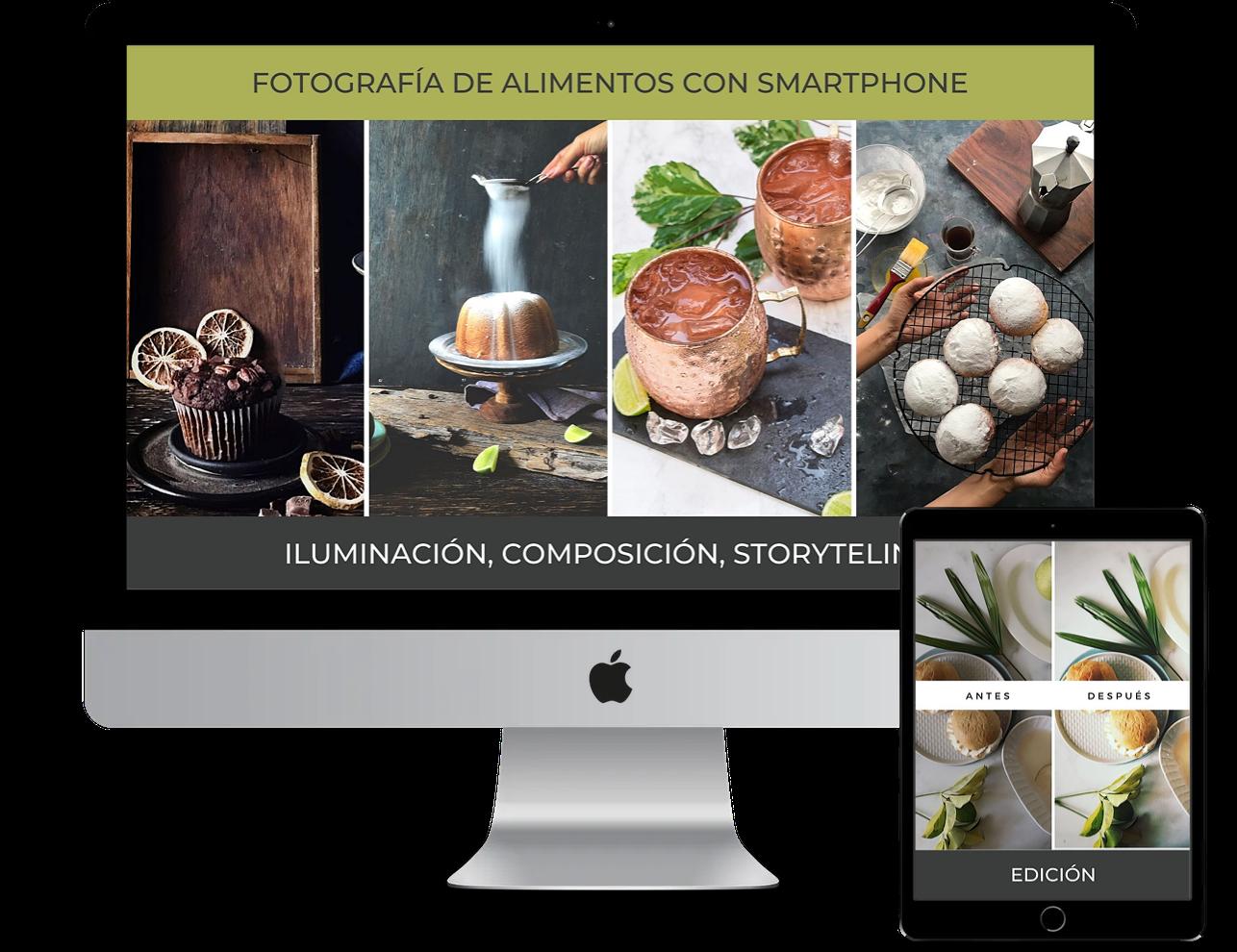 curso online fotografia gastronomica