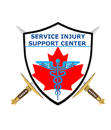 This is an image of a logo for Service Injury Support Centre