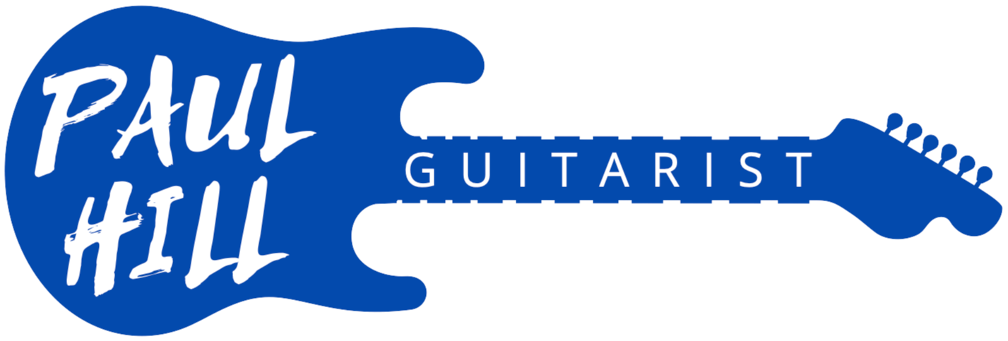 Paul Hill Guitarist logo