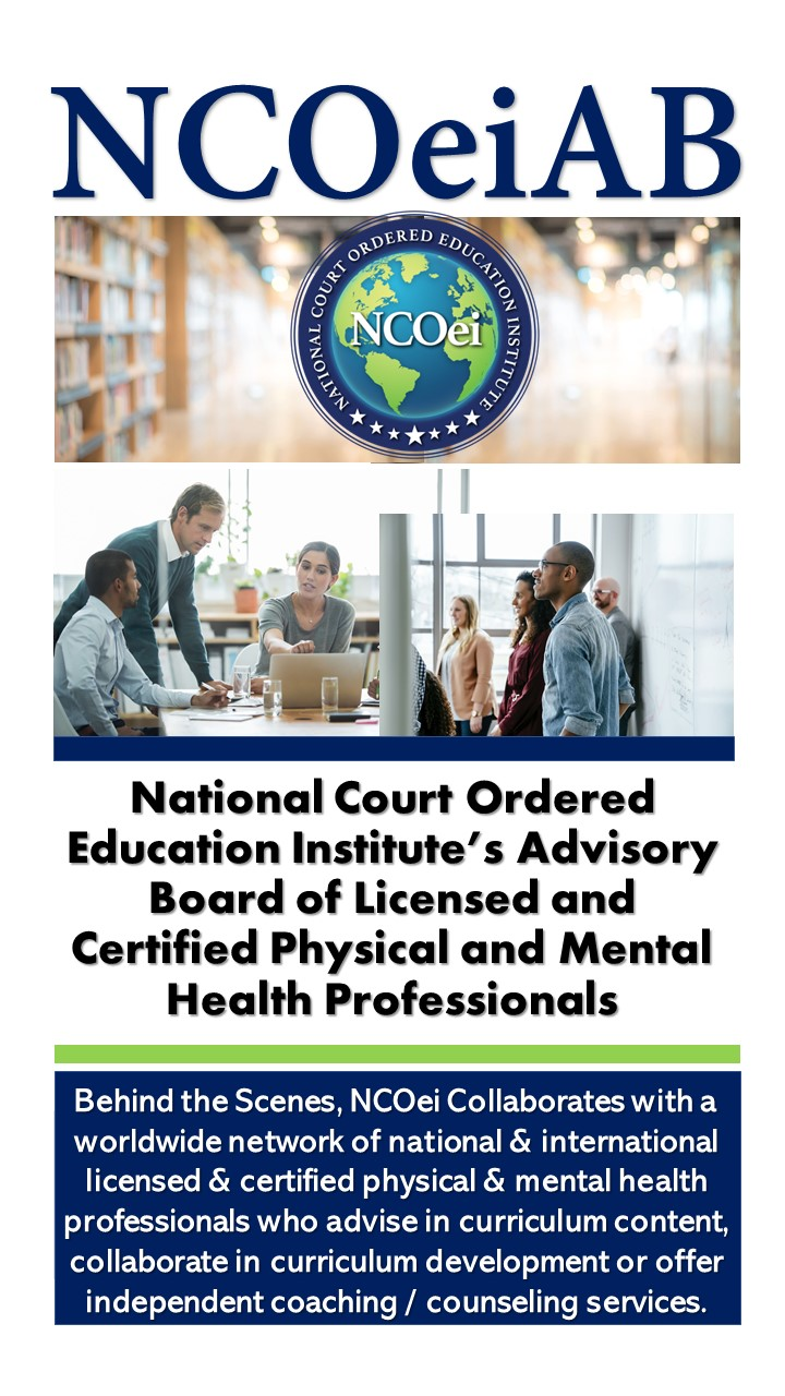NCOei.Thinkific 1-hour free eCourses for Court or Probation, Empowerment Entitlement Victims Impact Panels, Teen Parenting, Life Skills Enrichment, HIV/AIDS Awareness, DV/BIPP