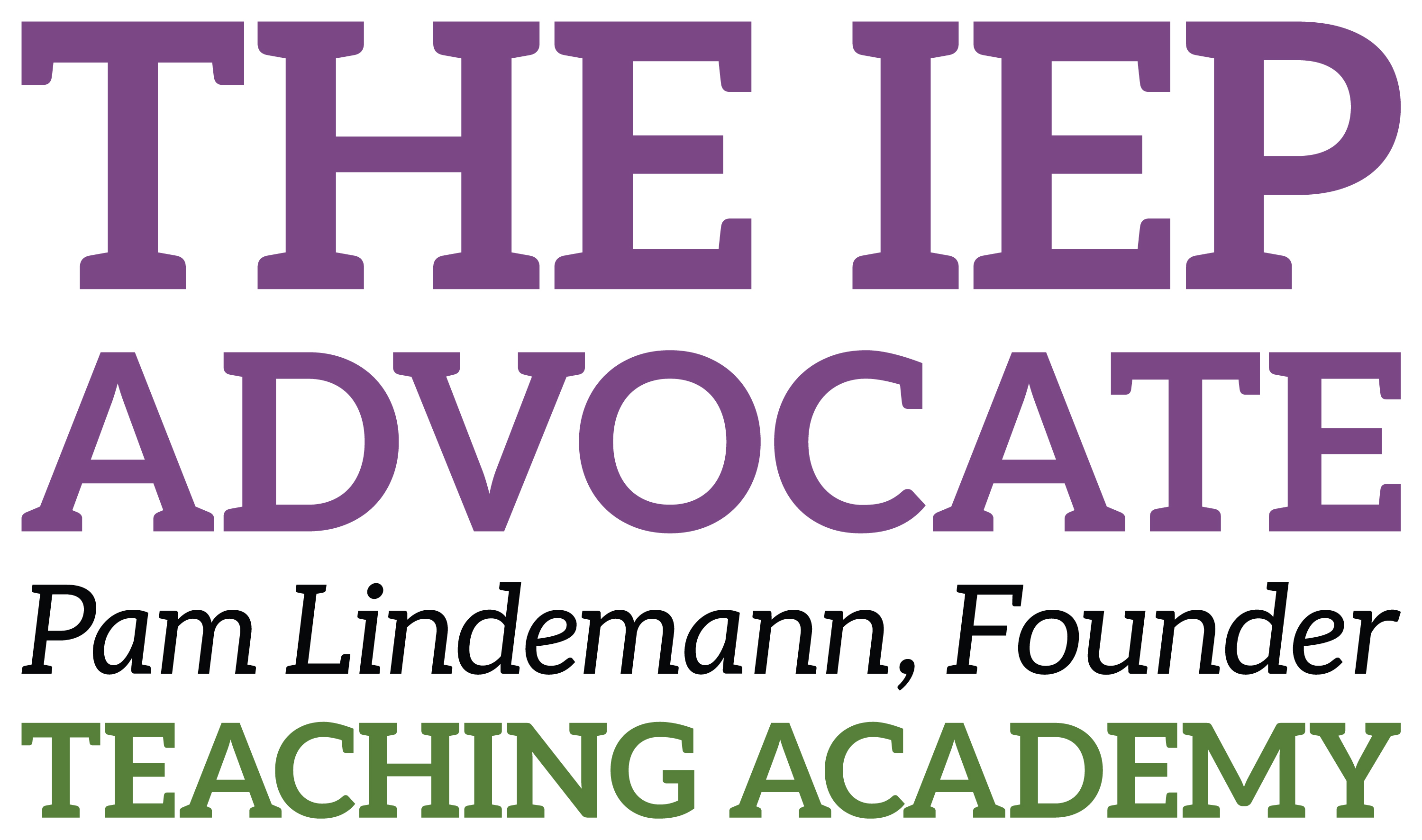 Logo: The IEP Advocate Teaching Academy
