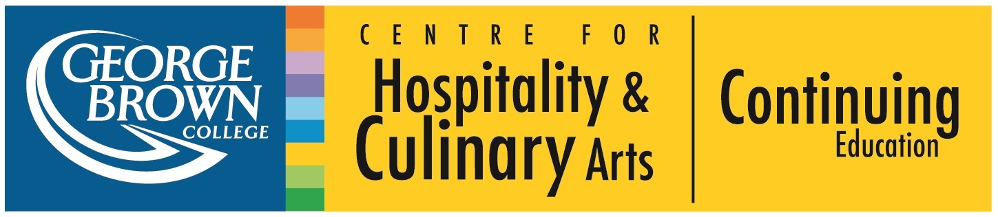 George Brown College Continuing Education Centre for Hospitality and Culinary Arts Logo