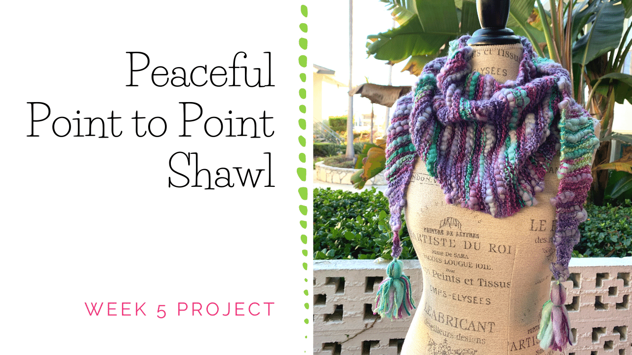 Point to Point Shawl