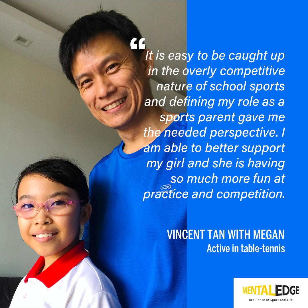 Parent Vincent Tan and daughter Megan