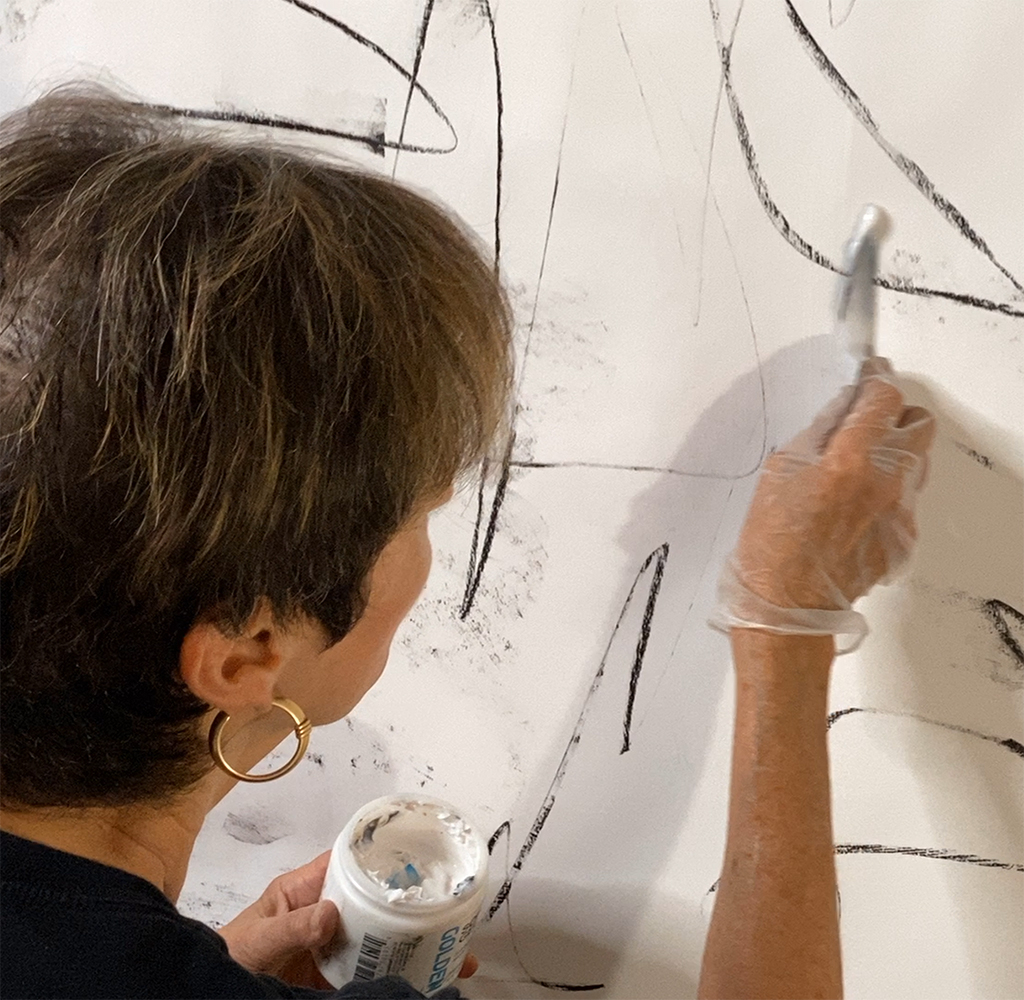 Develop your own unique signature marks, your personal painting vocabulary.
