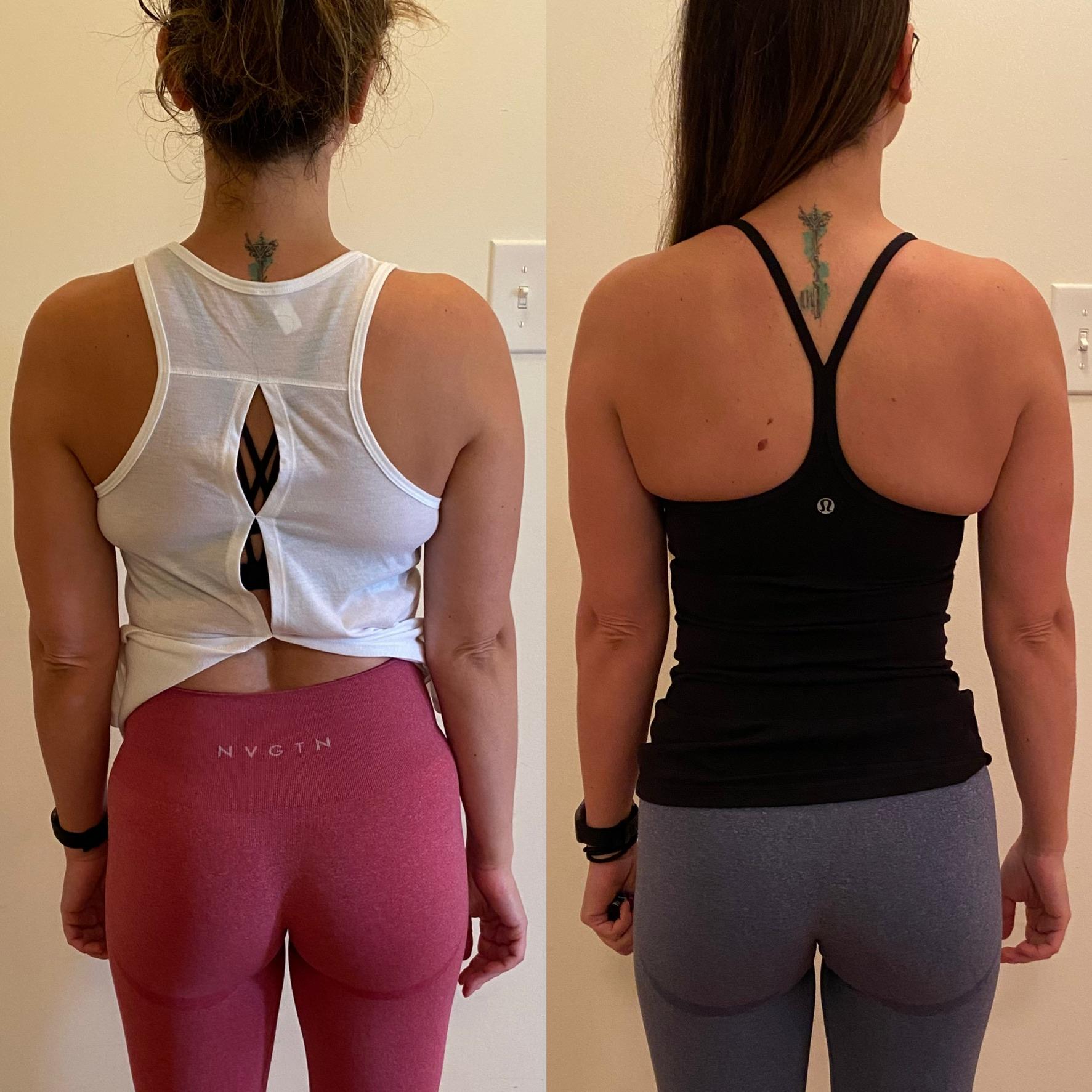 1 month Transformation
