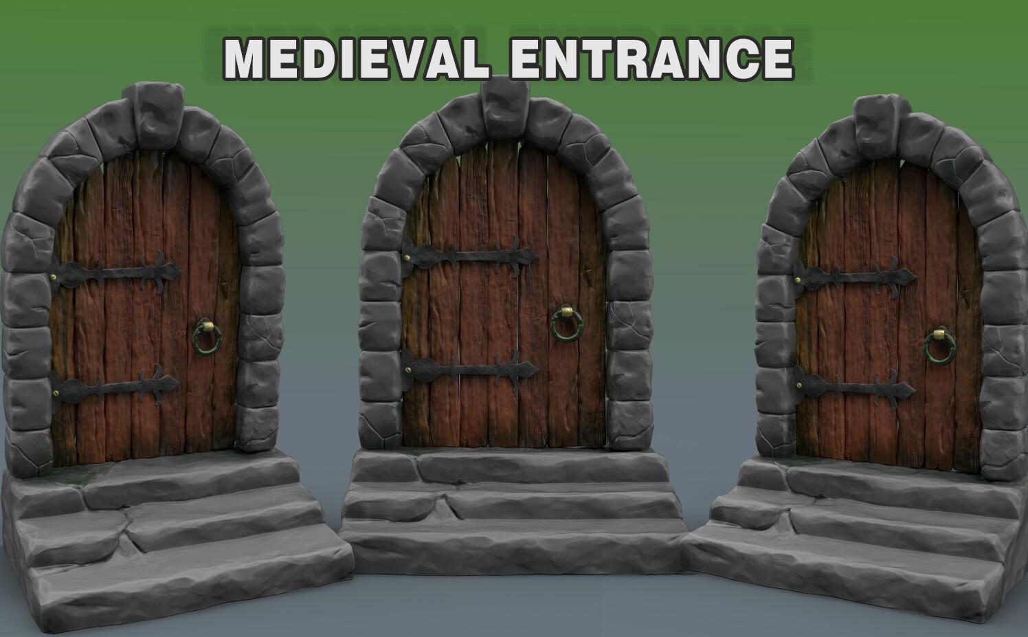 Medieval Entrance - Julien Bernier