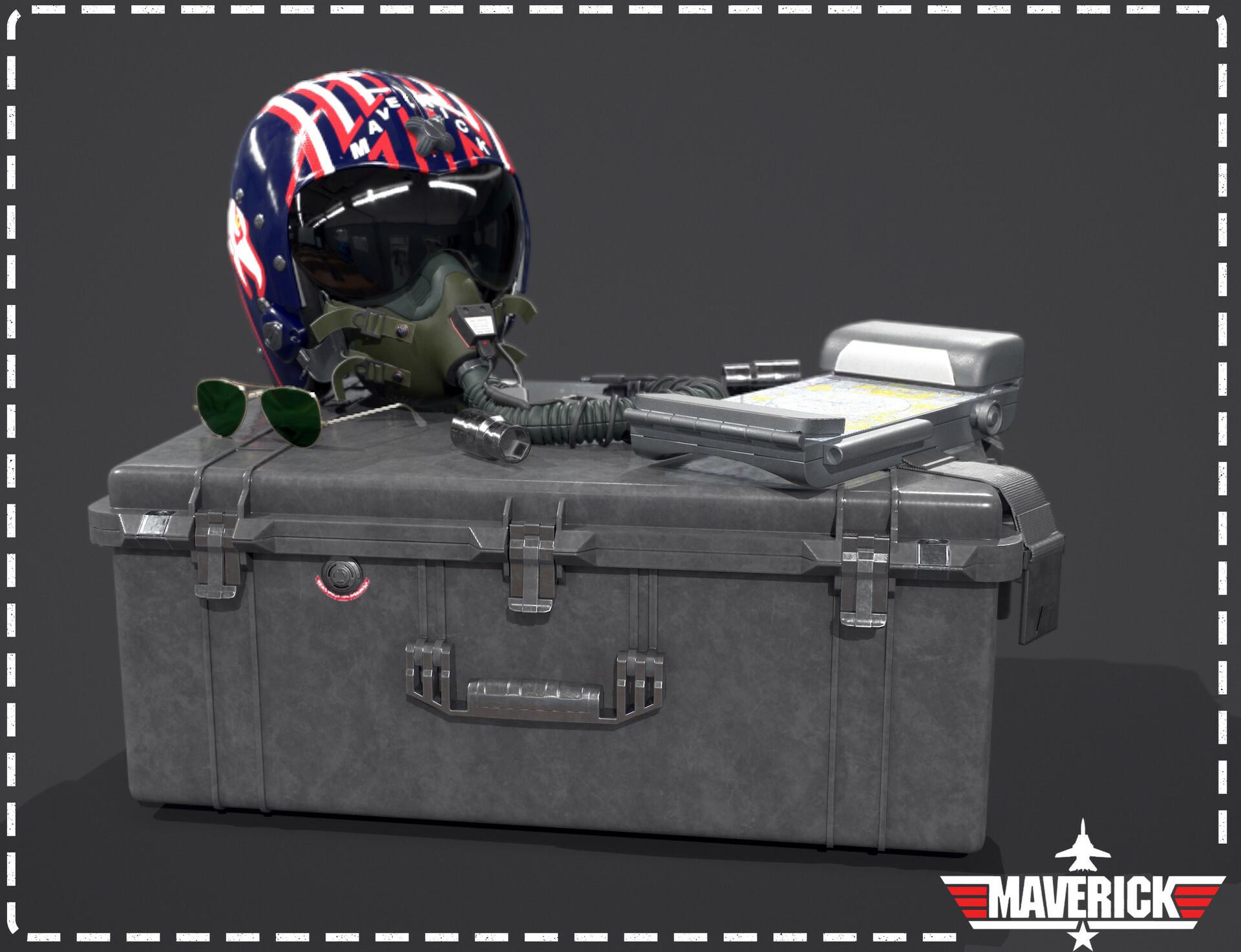 Top Gun Helmet - Luke Straker