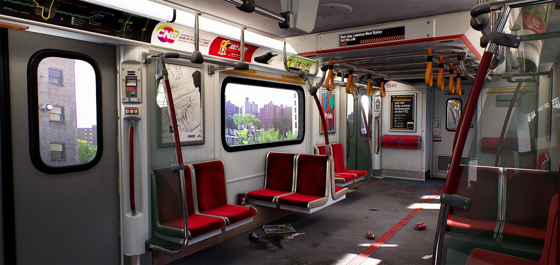 TTC (Toronto Transit Commissions) - Ashawn Masahir