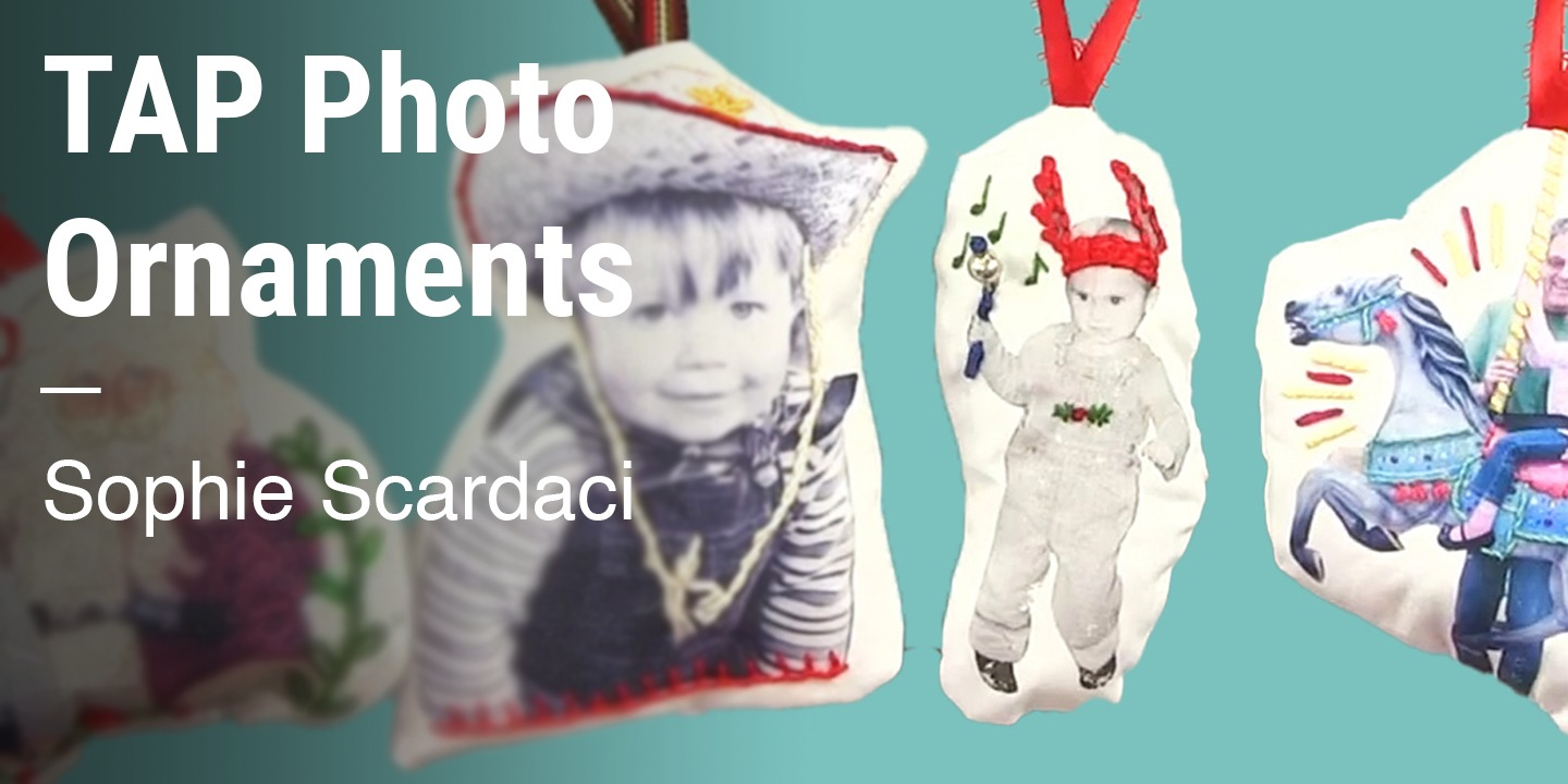 TAP Photo Ornaments Sophie Scardaci