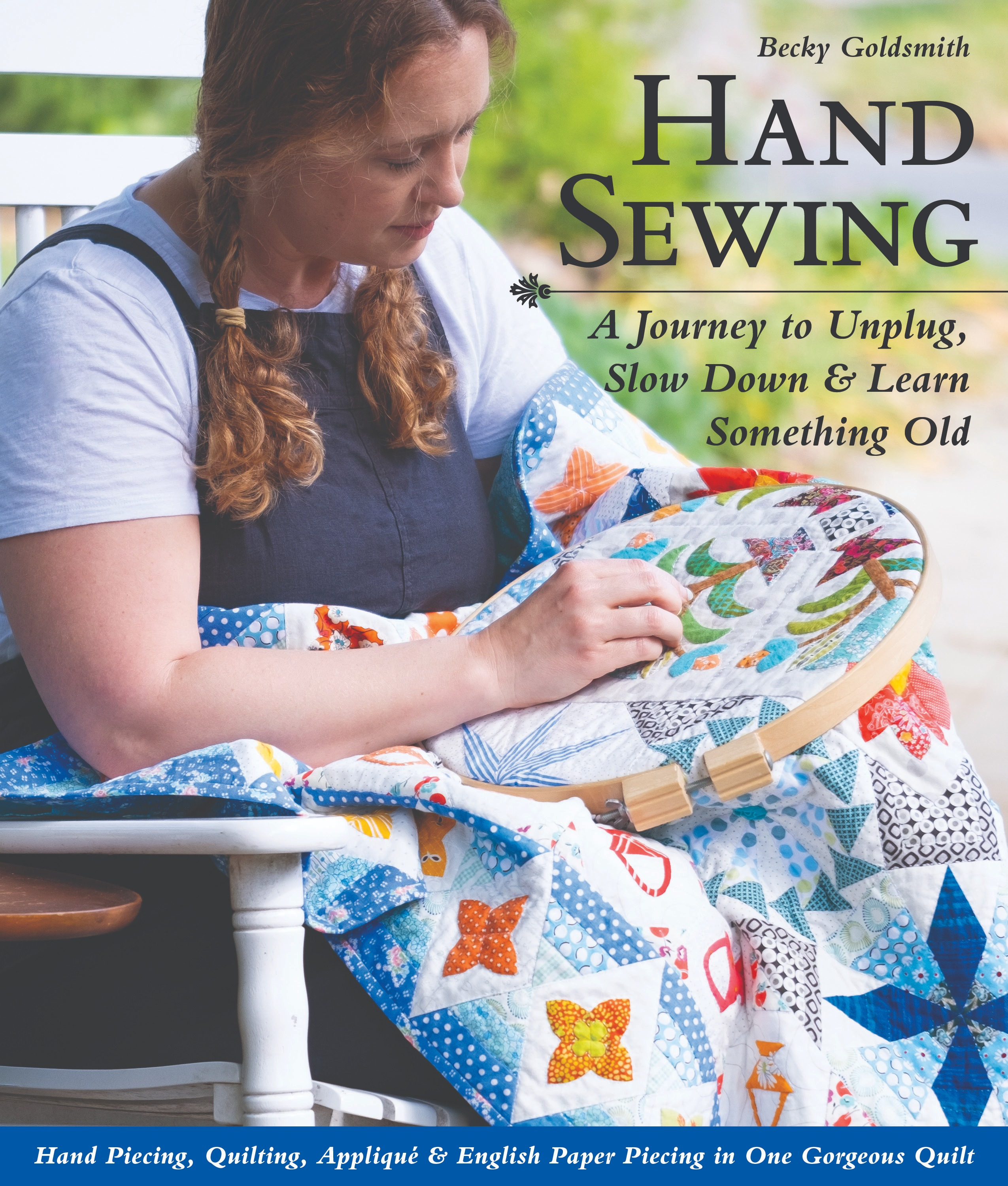 Hand Sewing, A Journey to Unplug, Slow Down & Learn Something Old
