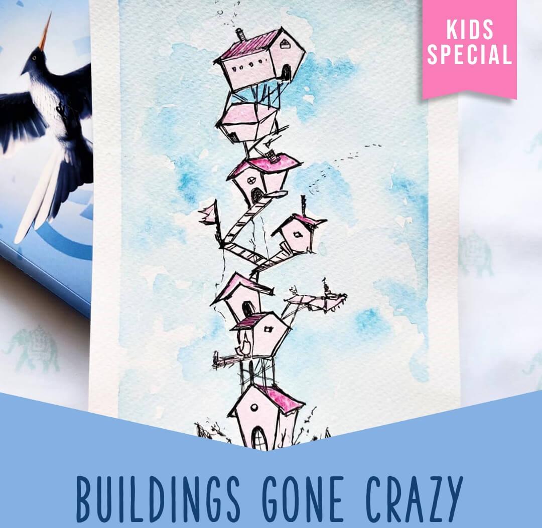 Buildings gone crazy