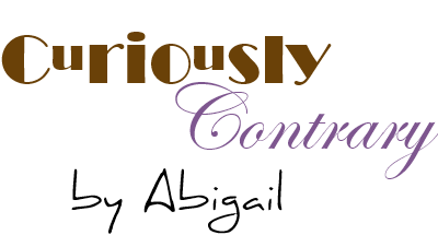 Curiously Contrary by Abigail