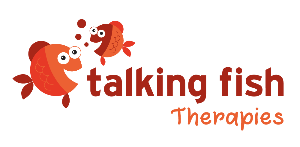 Talking Fish Speech Pathology Logo