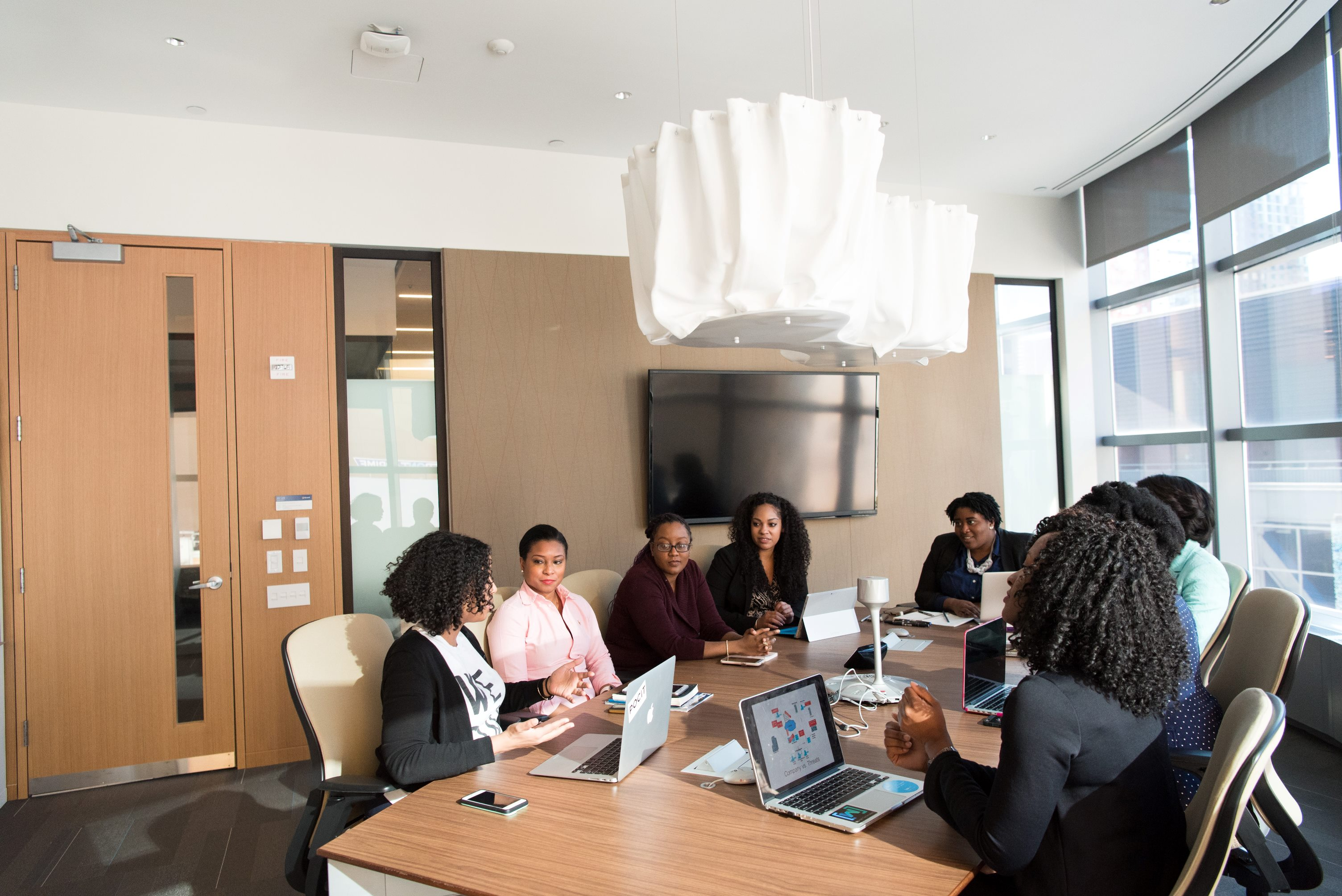 Black women technology meeting