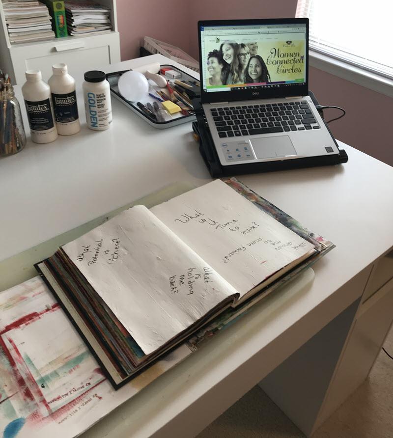 Coaching + Art Journaling