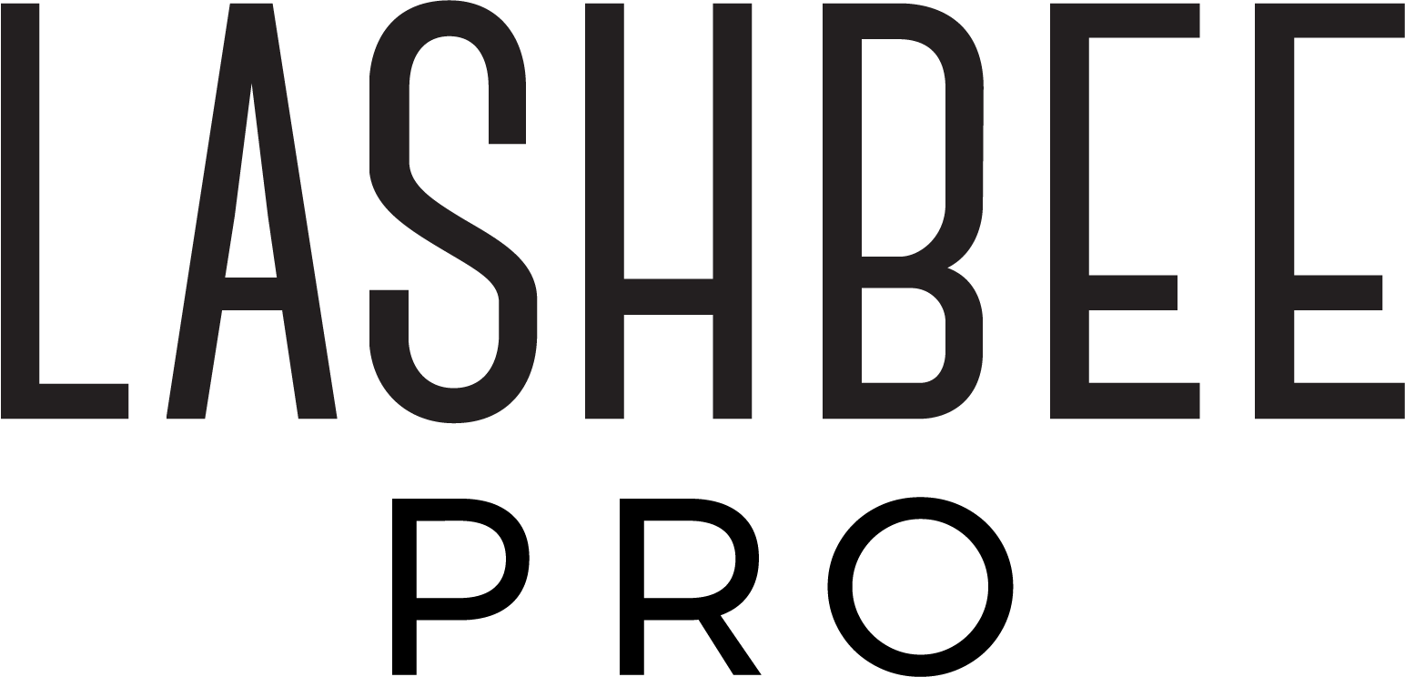 LashBeePro logo with the word LashBee over the word Pro