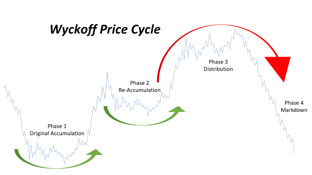 Wyckoff Price Cycle Accumulation Distribution Stocks