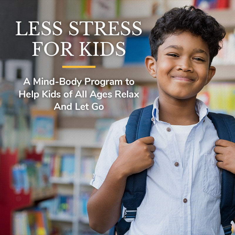 Less Stress For Kids Stress Doctor Brian Alman