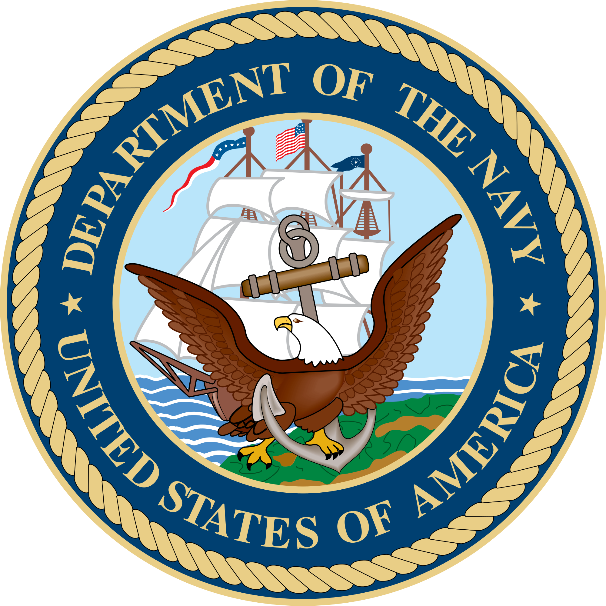 U.S. Department of the Navy Logo. Taught networking tips for introverts and individual development plans for employees