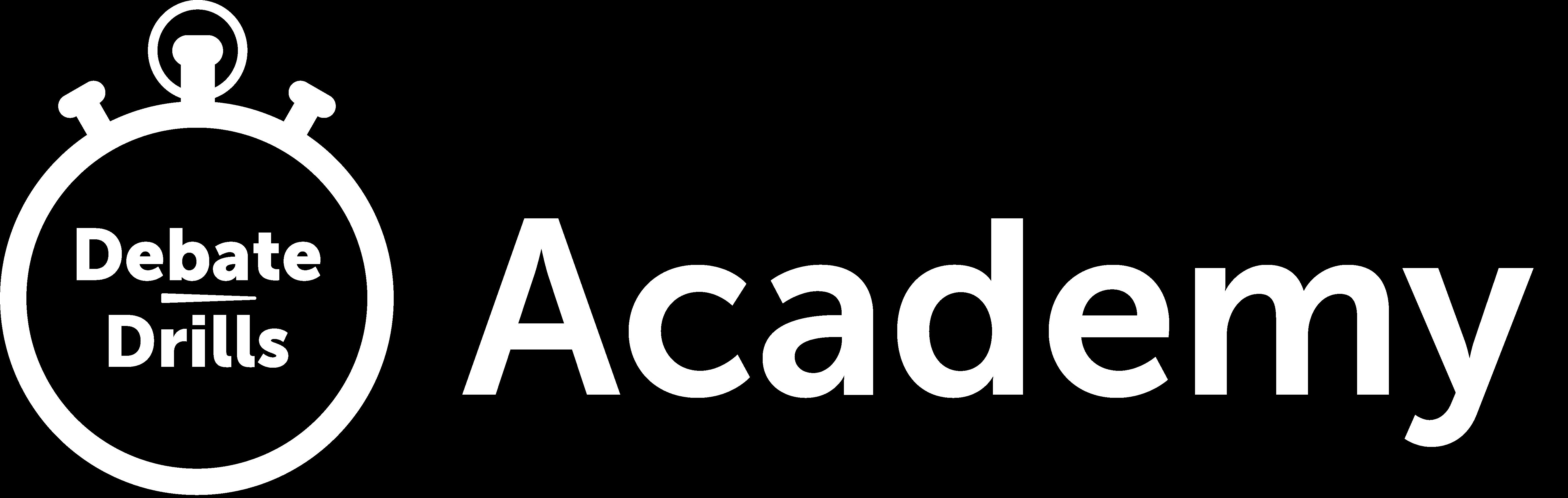 DebateDrills Academy Logo
