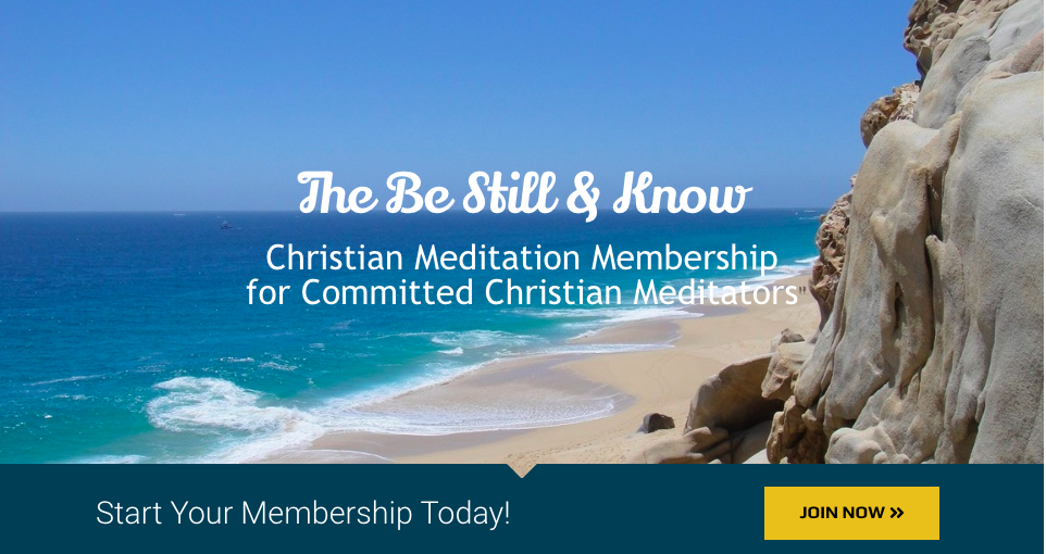 New! Be Still & Know Meditation Membership