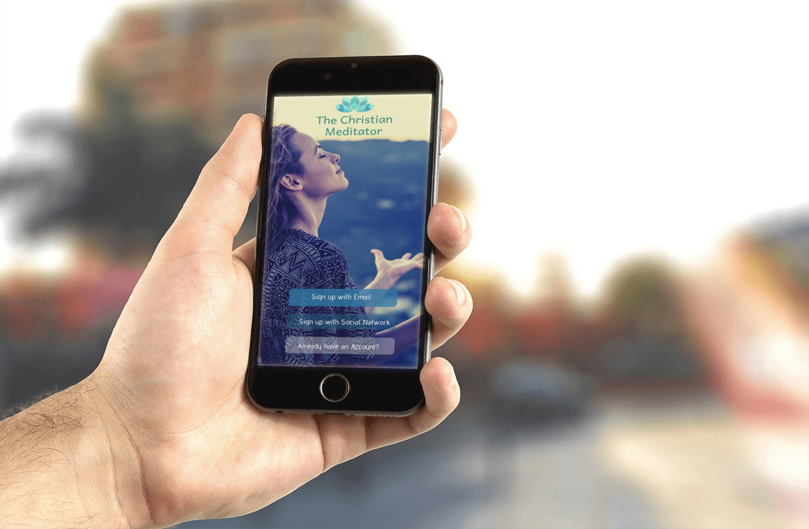 The Christian Meditator App