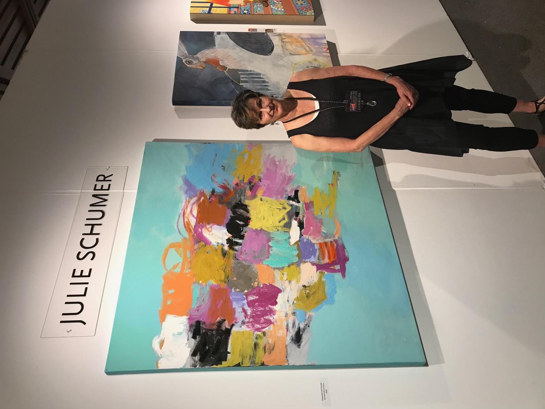 Artist Julie Schumer