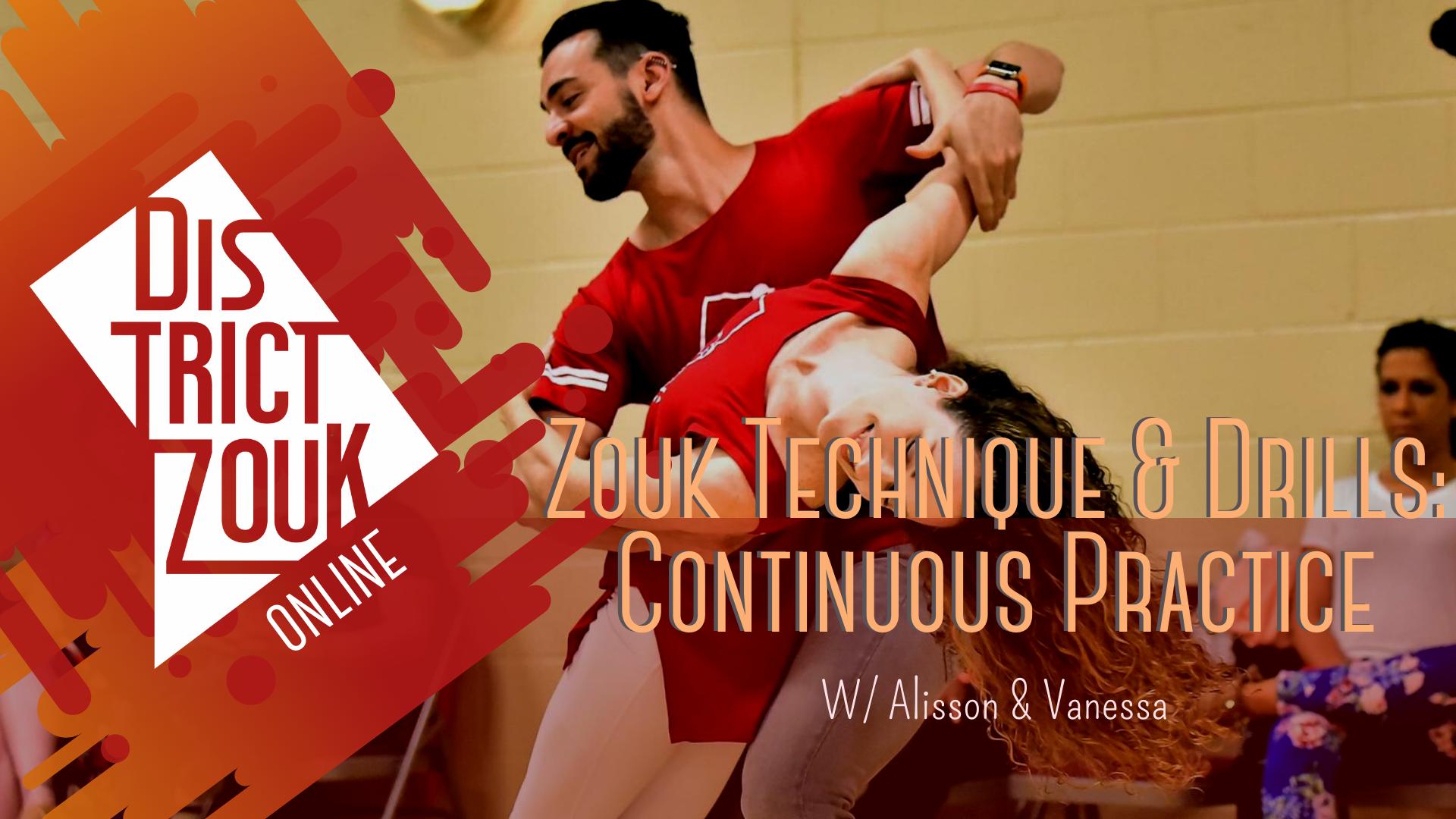 Zouk Technique & Drills: Continuous Practice