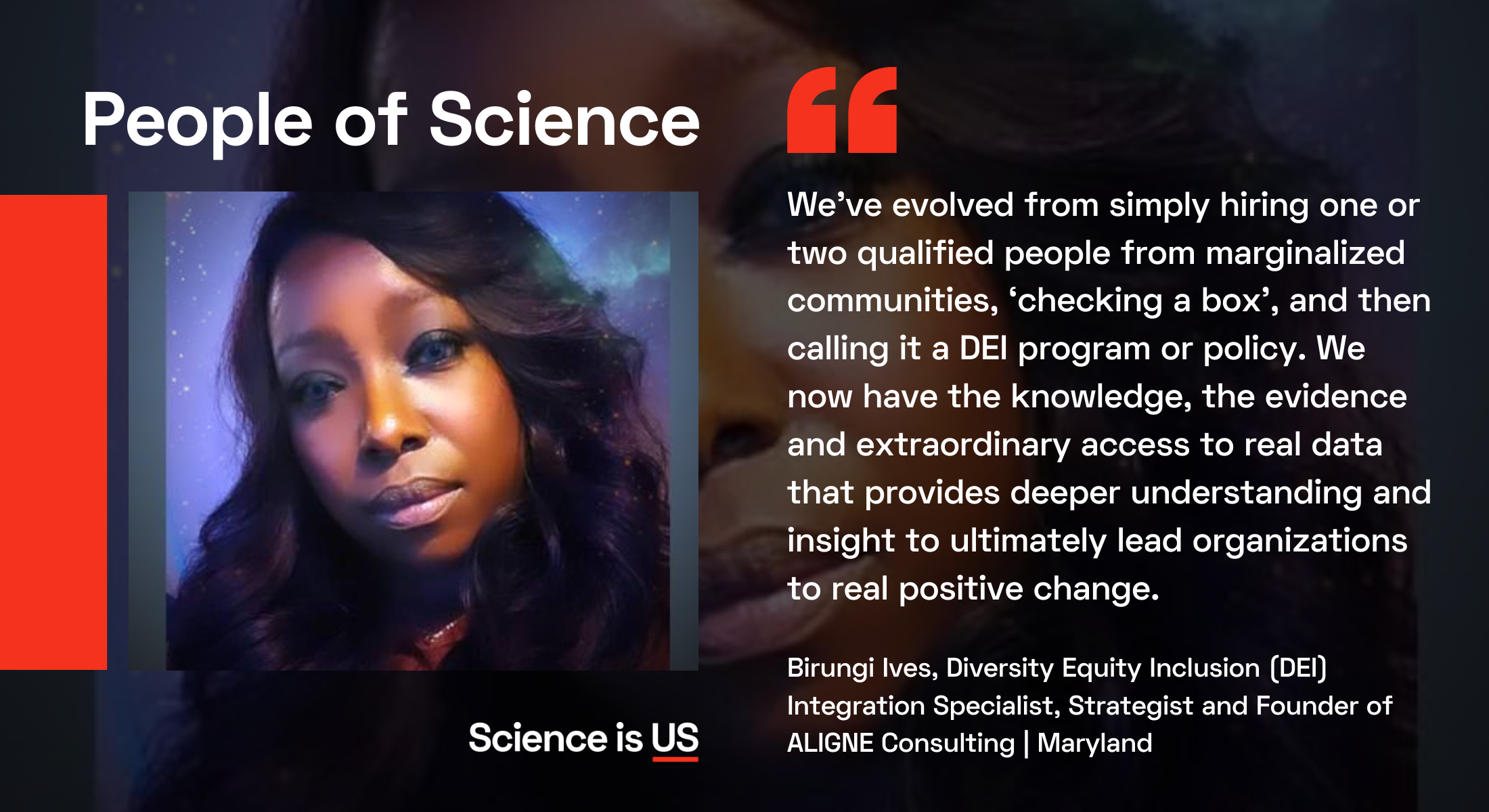 People of Science Interview with Birungi Ives