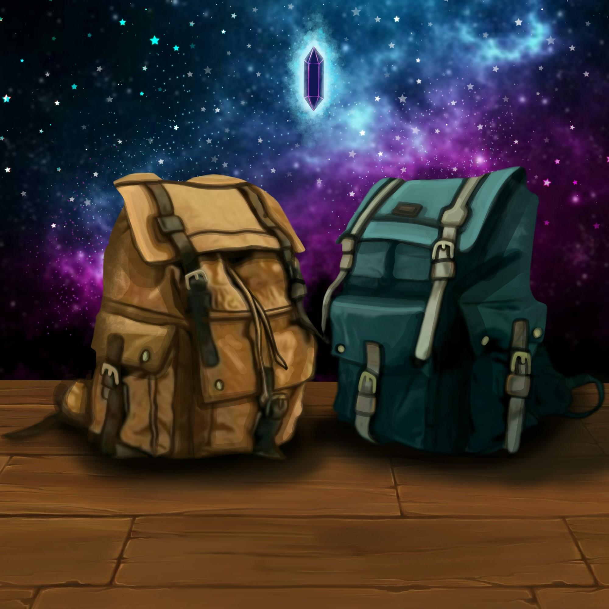 Art of backpacks