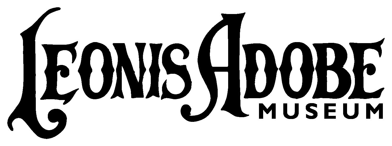 Leonis Adobe Museum (western-style logo)